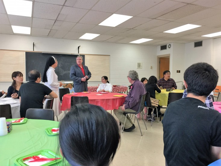 Canadian ESL   Thanksgiving  Party